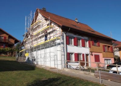 Echafaudage de façades