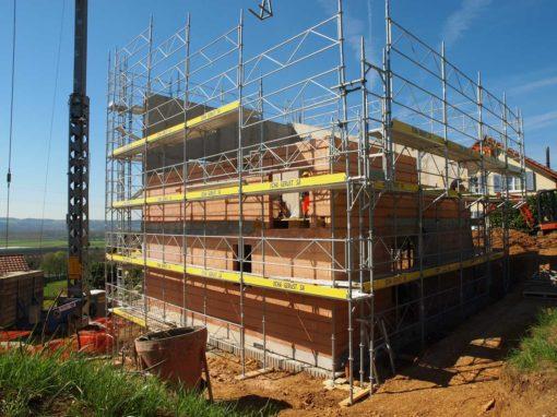 Treycovagne, construction villa