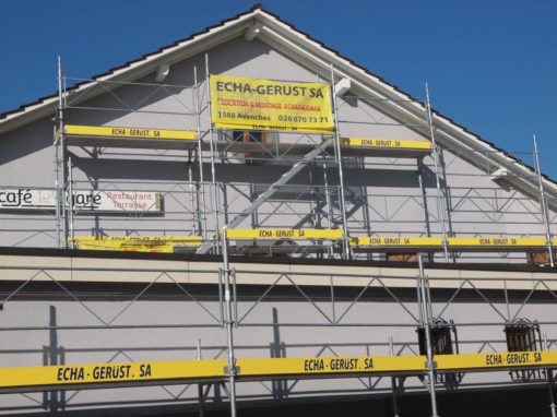 Domdidier travaux de peinture de façade