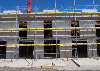 Vermietung und Aufbau von Gerüstbau Sugiez