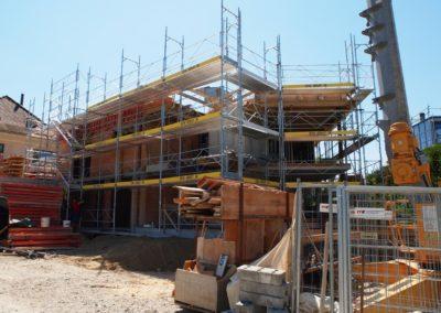 Fassadengerüst Muntelier Gerüstebau