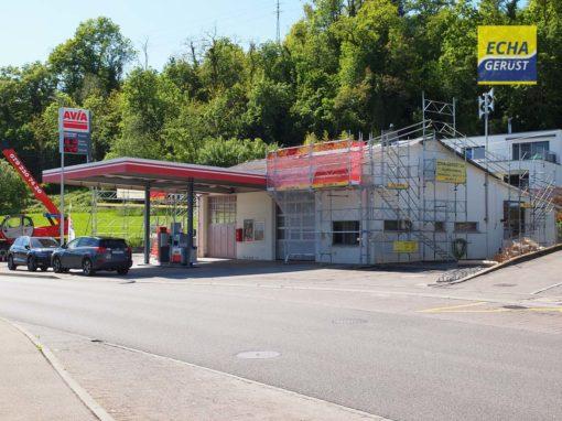 Vallamand – Les Chenevrières – station essence Avia